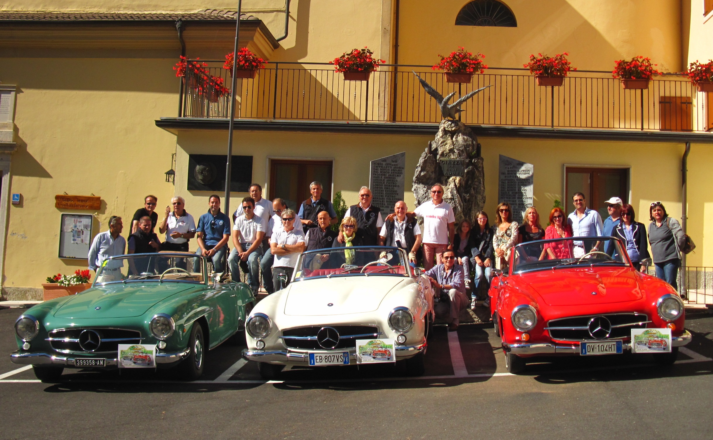 Mercedes-Benz 190 SL Club Italia